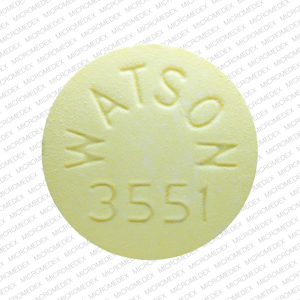 Buy WATSON 3551 Aspirin and oxycodone hydrochloride 325 mg 4.8355 mg Tablets in usa from medscare us acetaminophen and hydrocodone bitartrate111 1