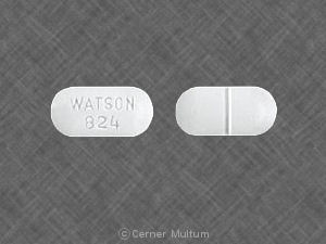 Buy WATSON 824 Acetaminophen and Oxycodone 500 mg 7.5 mg Tablets in usa from medscare us acetaminophen and hydrocodone bitartrate111 1