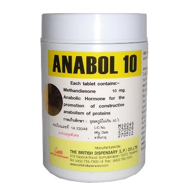 anabol 10 10mg x 500 tablets by british dispensary 1